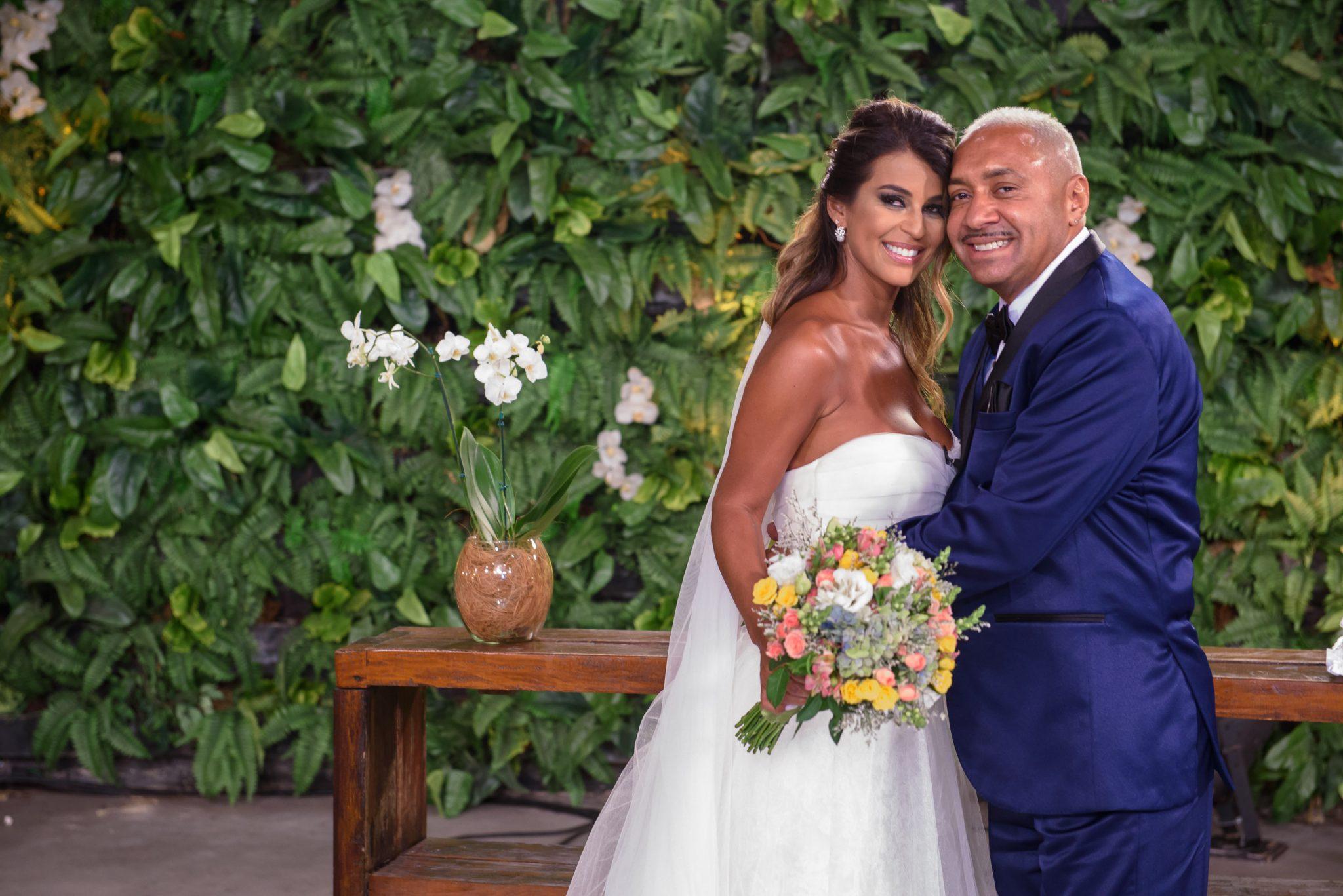 Nana e Tiririca casamento SBT