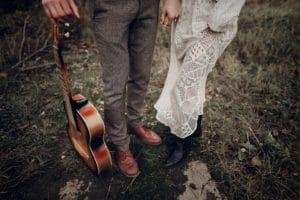 Características principais do casamento Folk